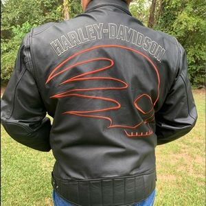 Harley-Davidson Skuller Man Riding Jacket 2014